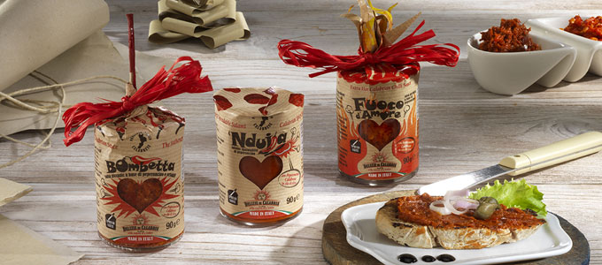 packaging Delizie di Calabria